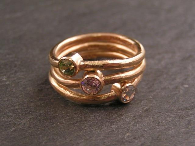 armbånd med ring