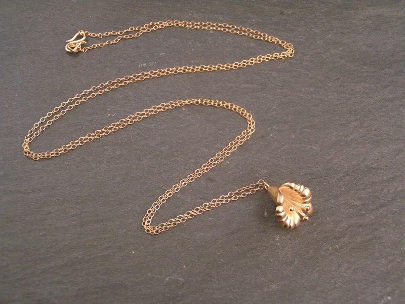 lang halskæde guld