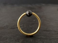 Diamant kugle ring